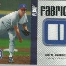 2006 Fleer Fabrics Greg Maddux No. FF-GM Relic Card