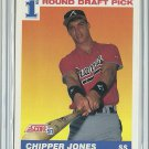1991 Score Chipper Jones No. 671 RC