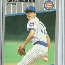 1989 Fleer Greg Maddux No. 431