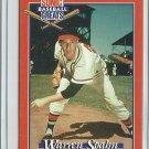 1995 Sonic Baseball Greats Warren Spahn