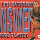 1999 Skybox Name Plates Allen Iverson No. 2 of 10 NP