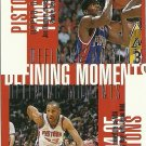 1998 Upper Deck Joe Dumars, Grant Hill, Dennis Rodman, Lindsey Hunter No. 338 Defining Moments