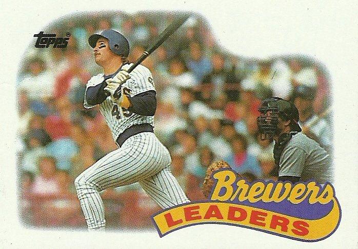 1989 Topps Milwaukee Brewers No. 759