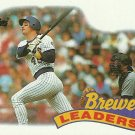 1989 Topps Milwaukee Brewers No. 759