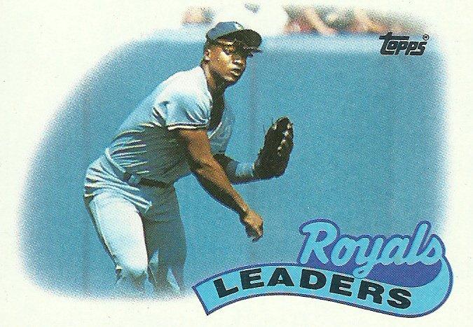 1989 Topps Kansas City Royals No. 789