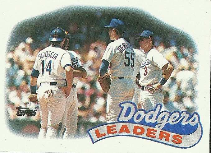 1989 Topps Los Angeles Dodgers No. 669