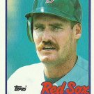1989 Topps Wade Boggs No. 600