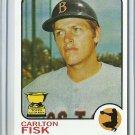 2005 Topps Carlton Fisk No. 193