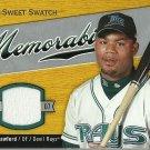 2007 Sweet Spot Sweet Swatch Carl Crawford No. SW-CC Relic