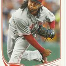 2013 Topps Johnny Cueto No. 275