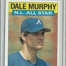 1986 Topps Dale Murphy No. 705