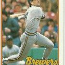 1989 Topps Paul Molitor No. 110