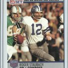 1990 NFL Pro Set All-Time Team Roger Staubach No. 37
