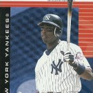 2004 Fleer Authentix Ticket Studs Alfonso Soriano No. 6 of 15 TS