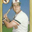 1987 Topps Cal Ripken No. 784