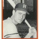 1987 TCMA Bob Hazle No. 3-1957