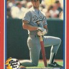 1987 Fleer Baseball's Hottest Stars Steve Sax No. 34 of 44