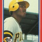 1987 Fleer Baseball's Hottest Stars Barry Bonds No. 5 of 44