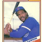 1988 Topps Revco Andre Dawson No. 2
