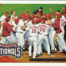2010 Topps Washington Nationals No. 361