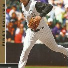 2009 Upper Deck First Edition Troy Tulowitzki No. 93