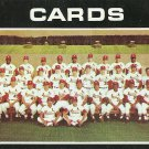 1971 Topps St. Louis Cardinals No. 308