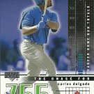 2002 Upper Deck The Chase for 755 Carlos Delgado No. C15