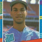 1991 Donruss Moises Alou No. 28 RC
