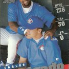 1998 Pinnacle Inside Carlos Delgado No. 90