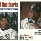 1998 Collector's Choice Tony Gwynn, Frank Thomas No. 253