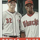 2012 Topps Heritage Jay Bruce, Justin Upton No. 242