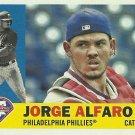 2017 Topps Archives Jorge Alfaro No. 13 RC