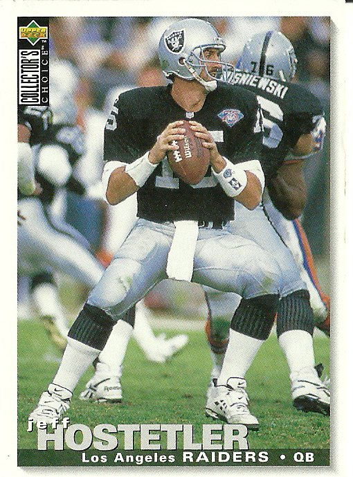 1995 Collector's Choice Jeff Hostetler No. 118