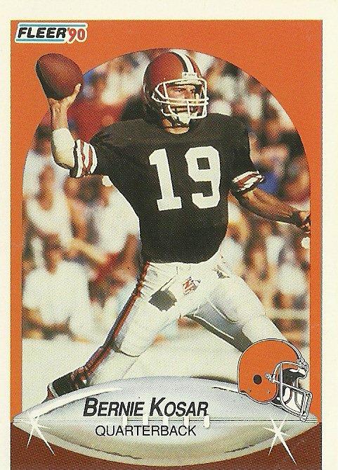 1990 Fleer Bernie Kosar No. 51