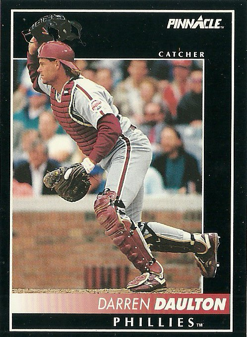 1992 Pinnacle Darren Daulton No. 241