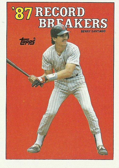 1988 Topps Benny Santiago No. 7