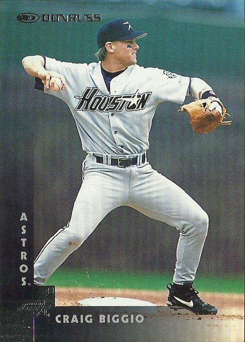 1997 Donruss Craig Biggio No. 14