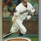 2010 Topps Chrome Brandon Belt No. 123