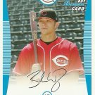 2008 Bowman Prospects Brandon Waring No. BP110 RC