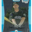 2008 Bowman Chrome Prospects Jordan Czarniecki No. BCP77 RC