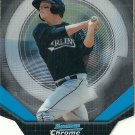 2011 Bowman Chrome Futures Matt Dominguez No. 17 RC Die-Cut