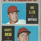 1970 Topps Joseph Lis, Scott Reid No. 56 RC