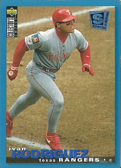 1995 Collector's Choice Special Edition Blue Ivan Rodriguez No. 188