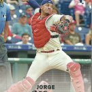 2017 Topps Stadium Club Jorge Alfaro No. 108 RC