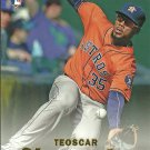 2017 Topps Stadium Club Gold Teoscar Hernandez No. 66 RC
