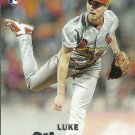 2017 Topps Stadium Club Luke Weaver No. 252 RC