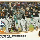2013 Topps Baltimore Orioles No. 317