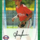 2011 Bowman Chrome Prospects Cesar Hernandez No. BCP122 RC Green Refractor