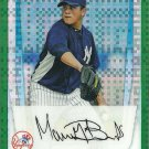 2011 Bowman Chrome Prospects Manny Banuelos No. BCP133 RC Green Refractor