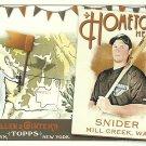 2011 Topps Allen & Ginter's Travis Snider No. HH100